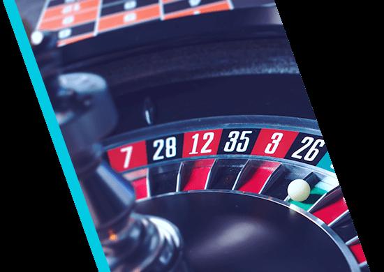 Live Casino Roulette Slanted Image