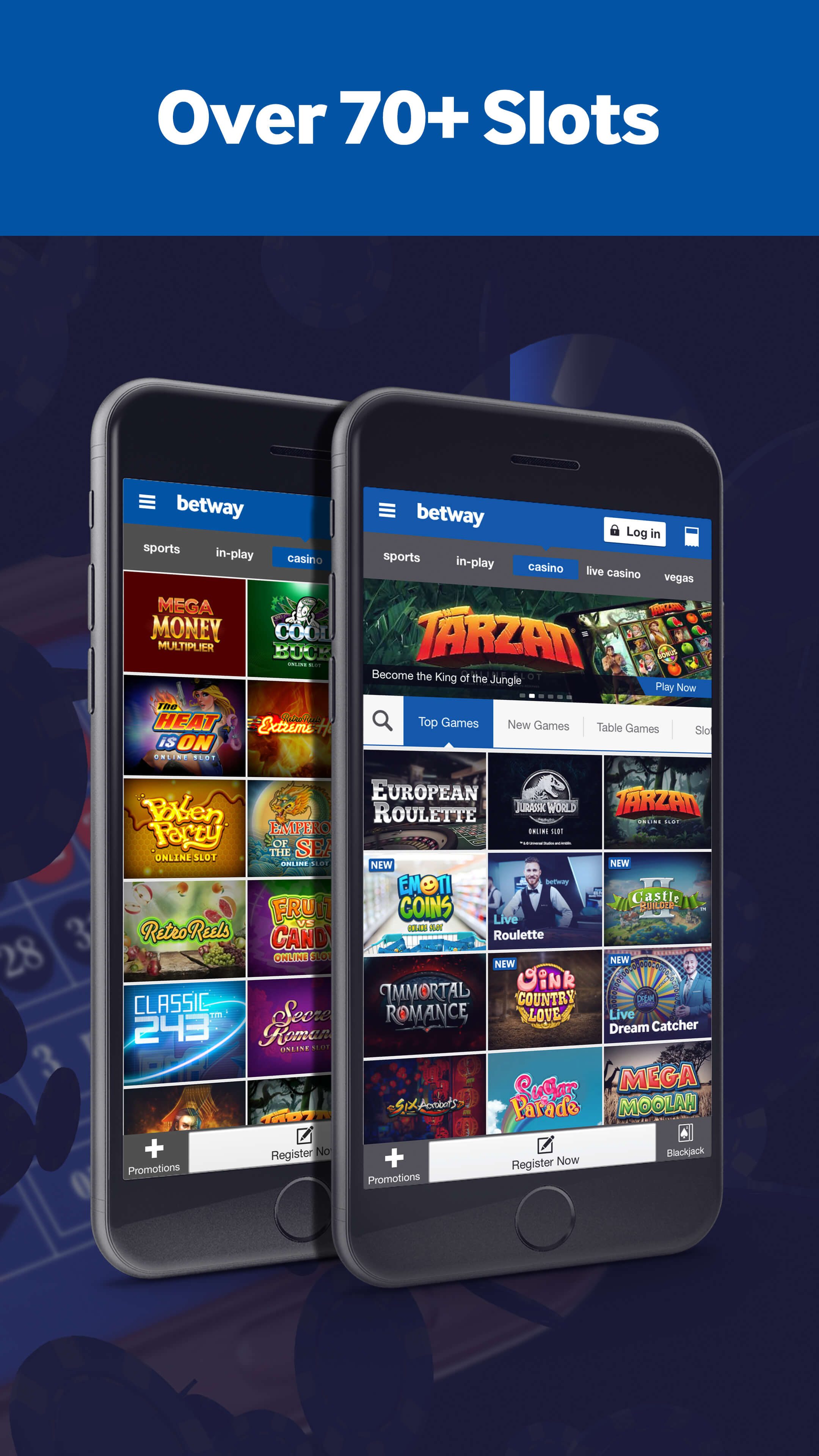 Mobile slots on device