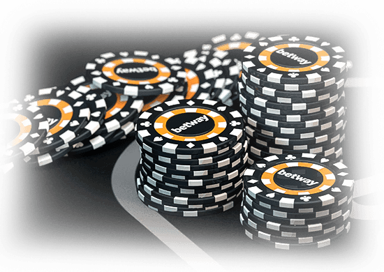 betway poker chips